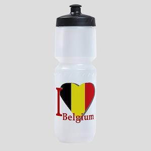 I love Belgium Sports Bottle