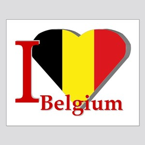 I love Belgium Small Poster