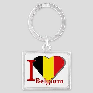 I love Belgium Landscape Keychain