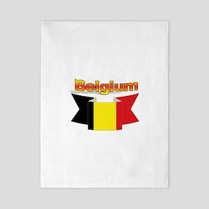 Belgian flag ribbon Twin Duvet