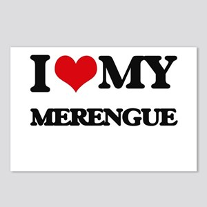 I Love My MERENGUE Postcards (Package of 8)