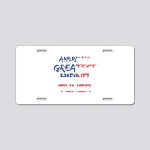 America's Greatest Piano Tu Aluminum License Plate