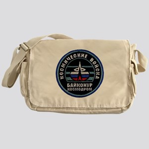 Baikonur Cosmodrome Messenger Bag