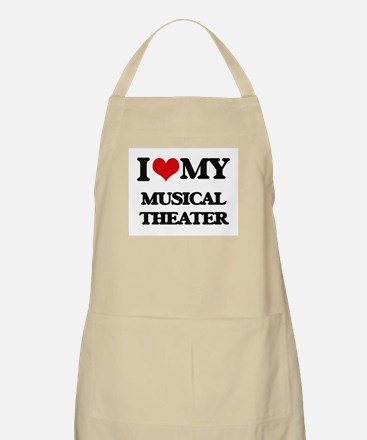 I Love My MUSICAL THEATER Apron