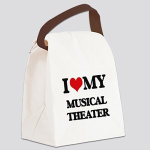 I Love My MUSICAL THEATER Canvas Lunch Bag