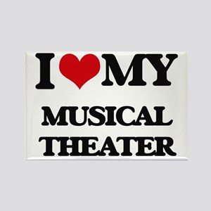 I Love My MUSICAL THEATER Magnets