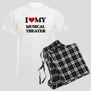 I Love My MUSICAL THEATER Men's Light Pajamas