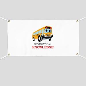 DESTINATION KNOWLEDGE Banner