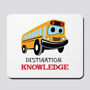 DESTINATION KNOWLEDGE Mousepad