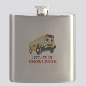 DESTINATION KNOWLEDGE Flask