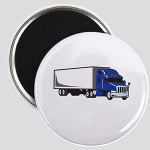 MED SEMI TRUCK Magnets