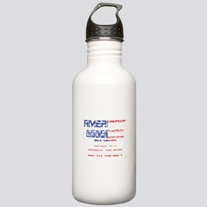 America's Greatest Bur Stainless Water Bottle 1.0L