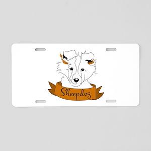 Sheepdog Aluminum License Plate