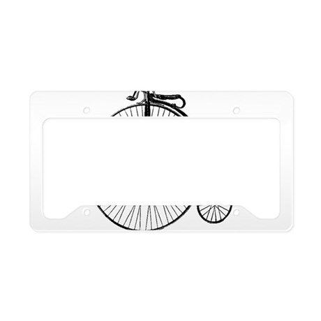 Antique Penny Farthing Bicycl License Plate Holder  sc 1 st  CafePress & Penny Farthing License Plate Frames - CafePress