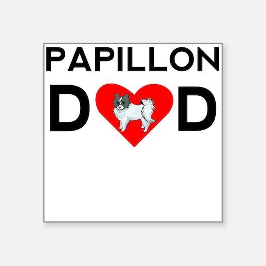 Papillon Dad Sticker
