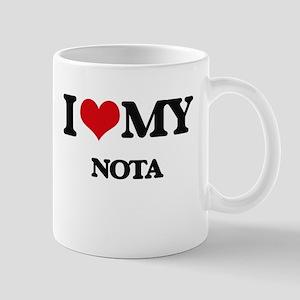 I Love My NOTA Mugs