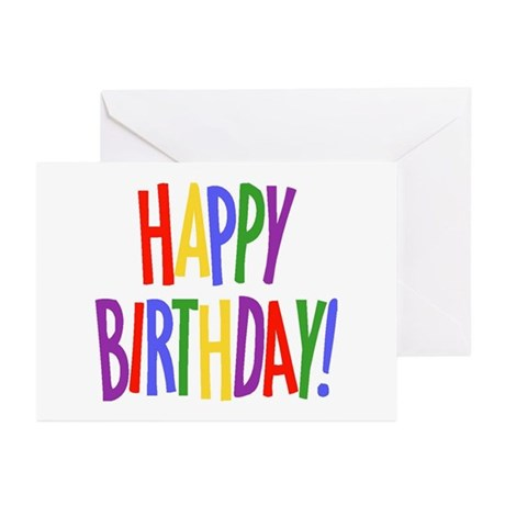Happy Birthday Greeting Cards (Pk of 10)