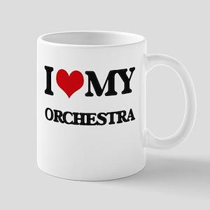I Love My ORCHESTRA Mugs