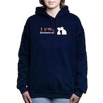 I Love Romance Women's Hooded Sweatshirt