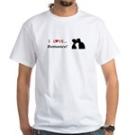 I Love Romance White T-Shirt