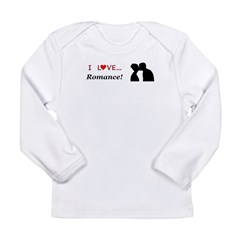 I Love Romance Long Sleeve Infant T-Shirt