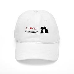 I Love Romance Baseball Cap