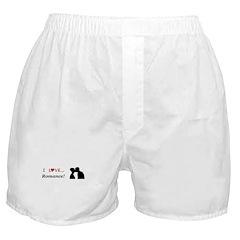 I Love Romance Boxer Shorts