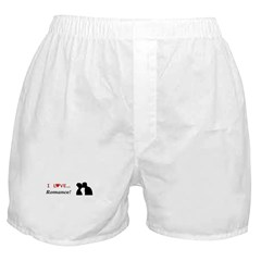 I Love Romance Boxer Shorts