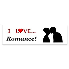 I Love Romance Sticker (Bumper 50 pk)