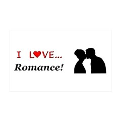 I Love Romance Wall Decal