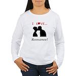 I Love Romance Women's Long Sleeve T-Shirt