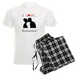 I Love Romance Men's Light Pajamas
