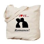 I Love Romance Tote Bag