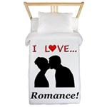 I Love Romance Twin Duvet