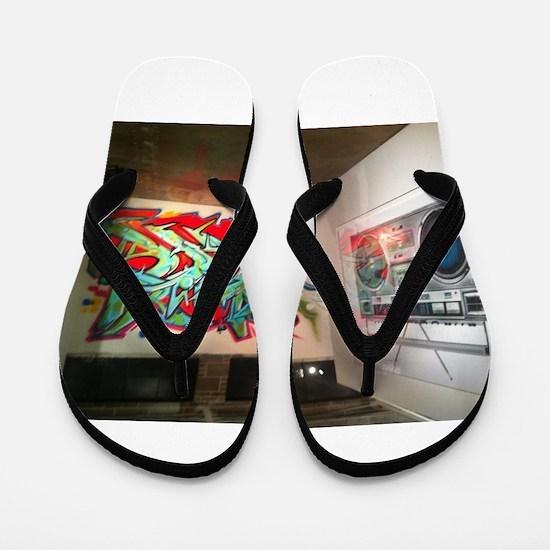 Sic art Flip Flops