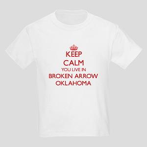 Keep calm you live in Broken Arrow Oklahom T-Shirt