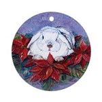 Melody  Round Ornament