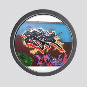 Wildstyle Art Wall Clock