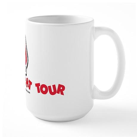 Large Mug - Tacky Light Tour Logo