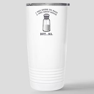A Joke About Sodium Ceramic Travel Mug