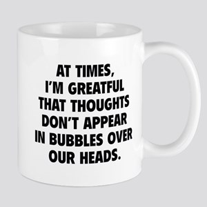 Bubbles Over Our Heads Mug