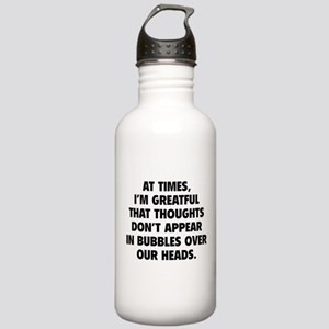 Bubbles Over Our Heads Stainless Water Bottle 1.0L