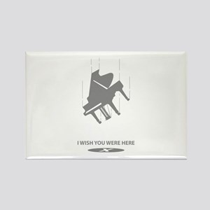 I Wish You Were Here Rectangle Magnet
