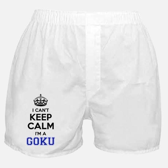 Funny Goku Boxer Shorts