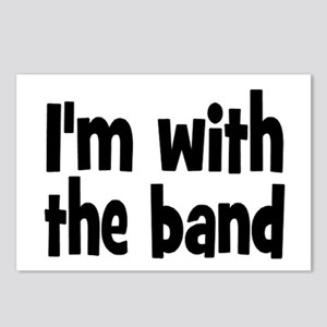 I'M WITH THE BAND Postcards (Package of 8)