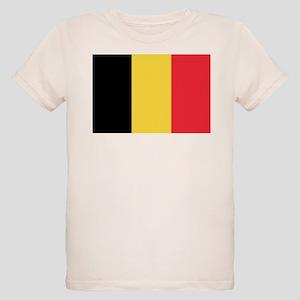Belgian flag Organic Kids T-Shirt