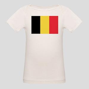 Belgian flag Organic Baby T-Shirt
