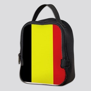 Belgian Flag Neoprene Lunch Bag
