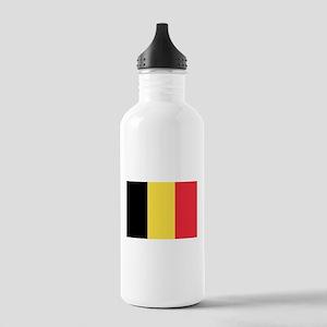 Belgian flag Stainless Water Bottle 1.0L