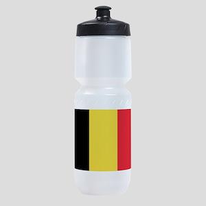 Belgian flag Sports Bottle